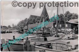 Insel Poel Kirchdorf Hafen Fischer boote Segel 20.5.1959 �ber WISMAR nach Schwerin