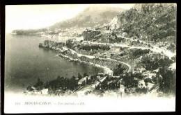 MONTE-CARLO - 393 : Vue Générale - (Beau Plan) - CP Précurseur, Vers 1900. - Monte-Carlo