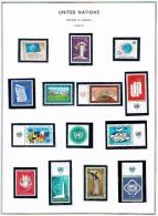 Vereinte Nationen UNO Genf Sammlung 1969-1975 Postfrisch MNH - Ginebra - Oficina De Las Naciones Unidas