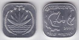BANGLADESH  5  POISHA  1.977/81  KM#10  Aluminio   SC/UNC       DL-11.587 - Bangladesh
