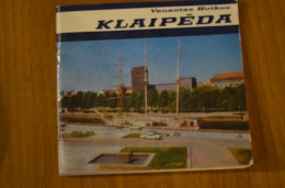 Lithuania Litauen Book Klaipeda Memel Memelland  1980 - Books, Magazines, Comics