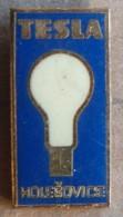 Nikola TESLA Company Czechoslovakia Electronic Industry Holesovice Pin Badge - Trademarks