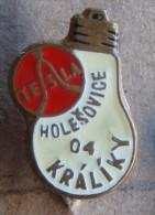Nikola TESLA Company Czechoslovakia Electronic Industry Holesovice Pin Badge - Merken
