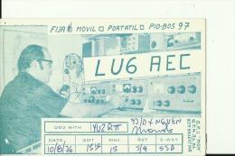 QSL CARD  --   ARGENTINA - QSL-Karten