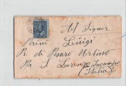 14798 CANADA HAMILTON TO SAN LORENZO IN CAMPO ITALY - 1910 - Cartas