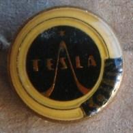 Nikola TESLA Company Czechoslovakia Electronic Industry Kolin Pins Badges - Marche