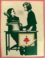 Reklame Werbeanzeige  ,  HB Cigaretten  ,  Frohen Herzens Genießen  -  Von 1965 - Raucherutensilien (ausser Tabak)