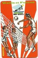 Rare Carte De WALLIS     VOLLEY  TIRAGE 6000EX - Wallis And Futuna