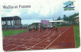 Rare Carte De WALLIS   80 U  JEUX 2013  TIRAGE 4000EX  Dont 1000 Numérotée   NUMERO825 - Wallis And Futuna