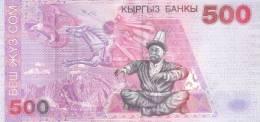 KYRGYZSTAN P. 17 500 S 2000 UNC - Kirguistán
