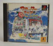 PS1 Japanese : Slotter Mania: Gekinetsu Okisuro! Siosai Special  SLPS 03192 - Sony PlayStation