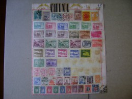 CHINA (CHINE), VARIOUS STAMPS LOT AS - Sonstige