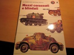 MEZZI CORAZZATI 1919-1934  CURCIO - GLI ESERCITI DEL XX° SECOLO - Italiano