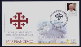 "2013 VATICANO ""PAPA FRANCESCO INCONTRA OESSH"" FDC (POSTE VATICANE) - FDC"