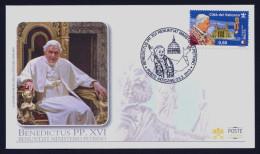 """2013 VATICANO """"BENEDICTUS XVI RENUNTIAT MINISTERIO PETRINO"""" FDC (POSTE VATICANE) - FDC"""
