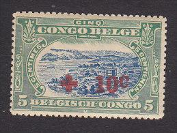 Belgian Congo, Scott #B1, Mint Never Hinged, Port Matadi Surcharged, Issued 1918 - 1894-1923 Mols: Mint/hinged