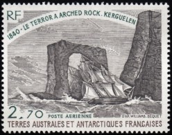 FRENCH SOUTHERN & ANTARTIC TERRITORY - Scott #C58 Natural Arch, Kerguelen Island / Mint NH Stamp - Airmail