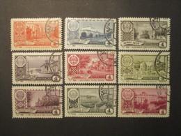 Russie. 1961. Yvert N° 2415 à 2421 B Oblit. Capitales De Républiques Autonomes D´URSS. Armoiries. - 1923-1991 UdSSR