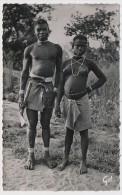 CPSM - A.O.F. (Guinée) - Jeunes Bassari - Guinée