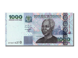 Tanzanie, 1000 Shilingi Type Julius K. Nyerere - Tanzanie
