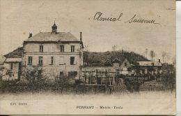 CPA PERNANT-MAIRIE-ECOLE - France