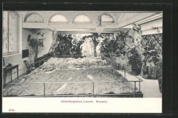 CPA Luzern, Gletschergarten, Museum, Vue Intérieure - LU Lucerne