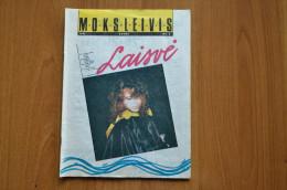 Lithuania Litauen Magazine Students 1991 Nr.3 - Livres, BD, Revues