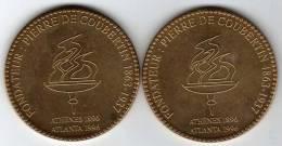 Jeux Olympiques Modernes 100e Anniversaire 1996 : Fondateur Pierre De Coubertin 1863-1937 - France