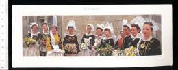 Format 23 X 9 Cm : Paysages De Bretagne / Folklore Bretonnes Coiffe Bigouden Bouquets De Fleurs Bouquet // 08-CP-GF - Bretagne