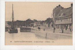 Saint Valery En Caux Les Ecluses France [LL 96] Vintage Postcard 977a - France