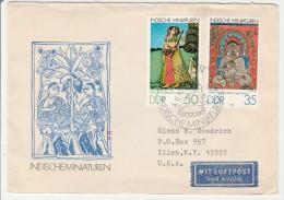 Berlin 1979 - Indische Miniaturen - FDC - India - DDR