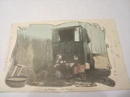 CPA LA ROULOTTE DER WAGEN 1903 - Europe