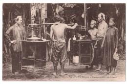 Cochinchine - Saïgon - Restaurateur Ambulant - édit. P. Dieulefils 910 + Verso - Vietnam