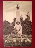 71 Saone Et Loire Cpa  CHAUDENAY Le Monument Aux Morts - Altri Comuni