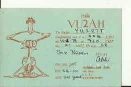 QSL CARD  --  INDIA - QSL-Karten