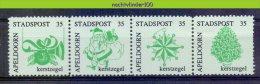 Mcx107 STADSPOST KERSTMIS CHRISTMAS LOCAL POST APELDOORN NEDERLAND 1987 OR 1988 PF/MNH - Nederland