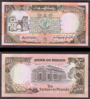 Sudan , 10 Pounds , 1991 , P-46 , UNC - Sudan