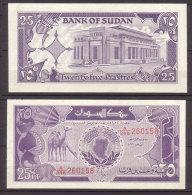 Sudan , 25 Piastres , 1987 , P-37 , UNC - Sudan