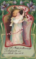 Oude Reclame Maison Esders Antwerpen Anvers Kipdorp 47 Litho Jugendstil Art Nouveau Publicité Advertisement - Advertising