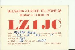 QSL CARD  --  BULGARIA - QSL-Karten