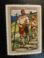 WILHELM TELL Tellspiele In ALTDORF Abstieg Nach Altdorf Vignette Poster Stamp Label Suisse Switzerland - Schweiz