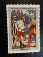 WILHELM TELL Tellspiele In ALTDORF Apfelschuss Vignette Poster Stamp Label Suisse Switzerland - Schweiz