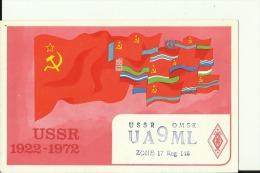 QSL CARD  --  USSR  --  RUSSIA, OMSK  --  1978 - QSL-Karten