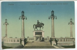 Oradea - King Ferdinand Statue, 1926 - Roemenië