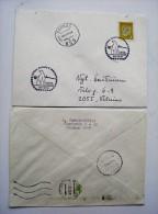 cover sent from Lithuania Kaunas 1994 special cancel polar bear animal