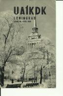 QSL CARD   --  RUSSIA  --  LENINGRAD - QSL-Karten