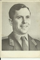 QSL CARD   --  RUSSIA  --  PAVEL ROMANOVIC POPOVIC  --  PILOT  ,,  VOSTOK 4 ,,  --  1971 - QSL-Karten