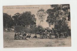 Chasseurs à Pied - 2° Bataillon Au Camp - Pointage Des Mitrailleuses - LUNEVILLE - 1914-18