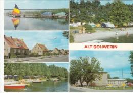 ALT SCHWERIN  -  DDR -  GERMANY  - Ungelaufen