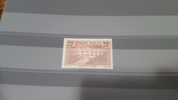 LOT 296819 TIMBRE DE FRANCE NEUF** N�262A VALEUR 575 EUROS